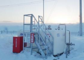 2013年11月設置 北海道名寄市 非常用発電用(A重油:8kl-R型)