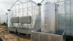 農業ビニールハウス暖房施設