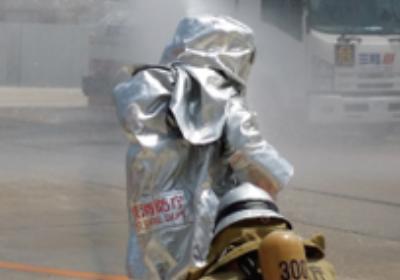 東京消防庁の合同災害訓練に参加